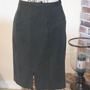 Express Skirts - Express Design Studio Grey Work Skirt